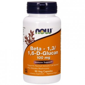 Beta Glucan 1,3/1,6 100mg 90 kaps. - suplement diety