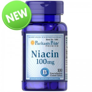 Niacyna 100 mg / 100 tab - suplement diety