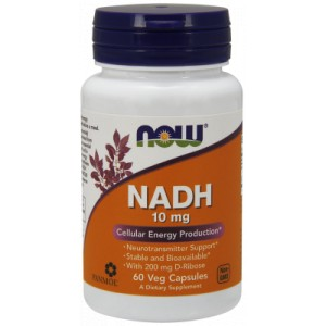 NADH 10mg 60kaps - suplement diety