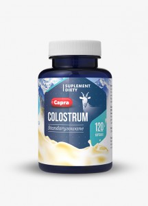 CAPRA COLOSTRUM - kozie kolostrum - 120kaps - suplement diety