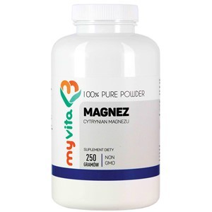 Cytrynian magnezu 250g - suplement diety