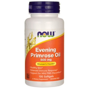 Evening Primrose Oil - olej z wiesiołka - 500mg/100kaps - suplement diety