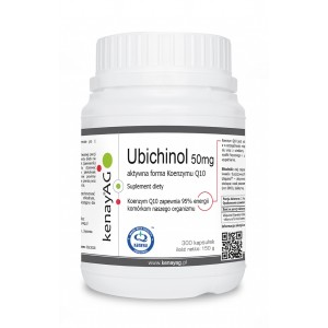 UBICHINOL 50mg/300kaps - suplement diety