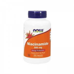 Niacinamide 500mg/100kaps - suplement diety