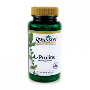 L-Prolina 500mg 100 kaps. - suplement diety