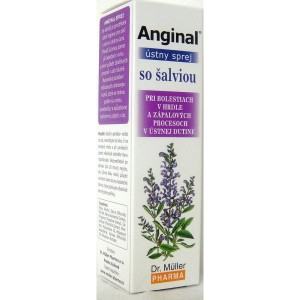 Anginal spray z szałwią 30 ml