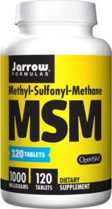 MSM 1000mg 120tabl - suplement diety