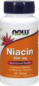 NIACYNA 500MG 100 tabl. - suplement diety