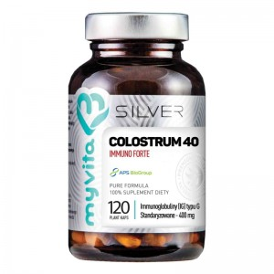 Colostrum 40/400mg 120 kaps - suplement diety