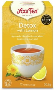 YOGI TEA Detox z cytryną DETOX WITH LEMON 17s.