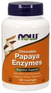 Papaja Enzymy (Papaya Enzymes) 180 tabletek do ssania - suplement diety