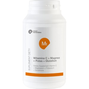 Mt Witamina C+ Magnez+ Potas+ Glutation 450g - suplement diety