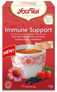 YOGI TEA -  IMMUNE SUPPORT 17sasz.