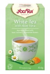 YOGI TEA Herbata biała z aloesem WHITE TEA WITH ALOE VERA 17sasz.
