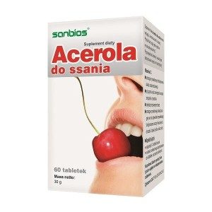 Acerola Do Ssania 60tabl - suplement diety