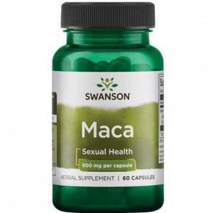 MACA extract 500mg/60kaps - suplement diety