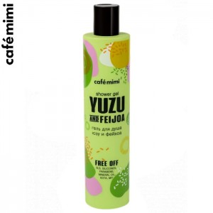 Żel pod prysznic YUZU and FEIJOA 300 ml - CAFE MIMI