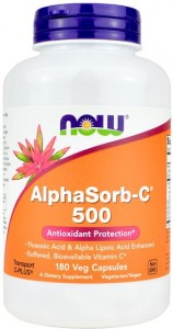 AlphaSorb C-500 180 kaps. - suplement diety
