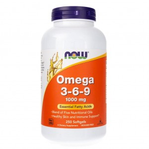 Omega 3-6-9 100 mg - 250 kaps - suplement diety