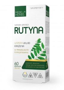 Rutyna 60kaps - suplement diety