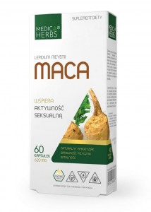 MACA extract 600mg/60kaps - suplement diety