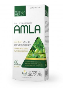 AMLA 60kaps/ 600mg - suplement diety