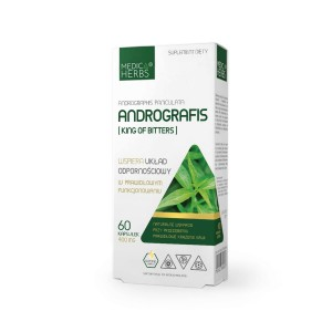 ANDROGRAPHIS EXTRACT 60kaps / 400mg - suplement diety