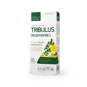 Tribulus extract 60kaps - suplement diety