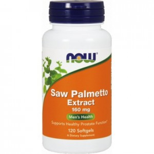 Saw Palmetto extract 160 mg - 120 kaps. - suplement diety