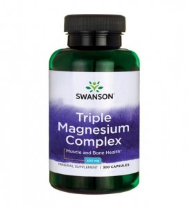 Triple Magnesium Complex 300kaps/400mg - suplement diety