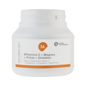 Mt Witamina C+ Magnez+ Potas+ Glutation 150g - suplement diety