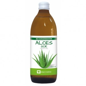 Aloe vera - Aloes sok 1000ml - suplement diety