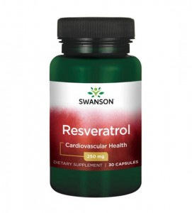 RESVERATROL 250mg/30kaps - suplement diety