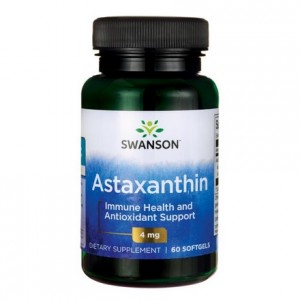 Astaksantyna (Astaxanthin) 4mg 60 kaps - suplement diety